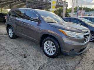 TOYOTA HIGHLANDER LE LIQUIDACION PRECIO REAL!, Toyota Puerto Rico