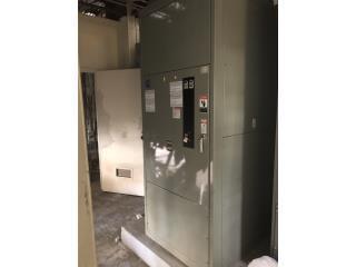Transfer switch desde 200A hasta 800A, Equipo Construccion Puerto Rico