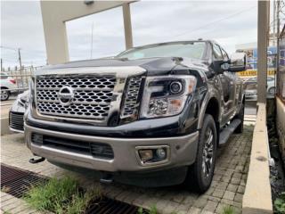 NISSAN TITTAN 4X4 PLATINIUM-2018/DIESEL LLAMA, Nissan Puerto Rico