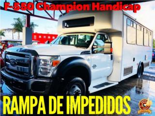 FORD F550 CHAMPION HANDICAP IMPEDIDOS RAMPA, Ford Puerto Rico