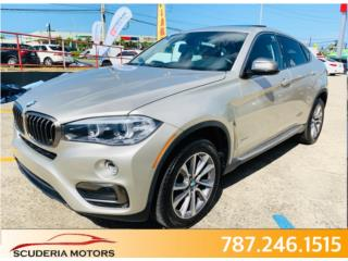 2015 X6 XDRIVE 35i PRECIOSA LLAMA Q C VA !!!, BMW Puerto Rico