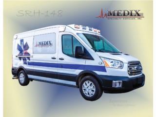 AMBULANCIA 2020 FORD MEDIX TRANSIT GASOLIA , Ford Puerto Rico