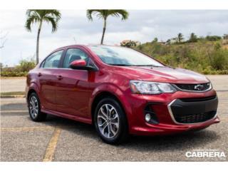 2019 Chevrolet Sonic LT, Chevrolet Puerto Rico