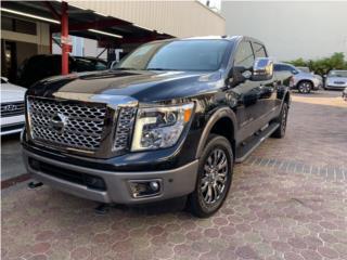2018 Nissan Titan Platinum 4X4 DIESEL CUMMINS, Nissan Puerto Rico