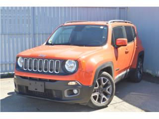 2017 Jeep Renegade Latitude, T7E68822, Jeep Puerto Rico