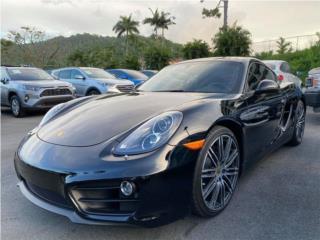 PORSCHE CAYMAN BLACK EDITION 2016, Porsche Puerto Rico