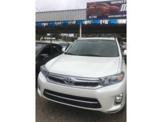 Toyota Highlander Hybrid 2013, Toyota Puerto Rico