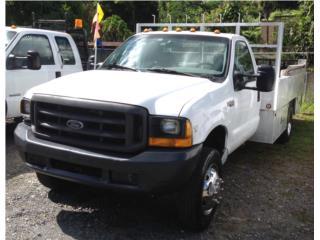 FORD F450 STD. 7.3 PLATAFORMA Y GAVETAS 1999, Ford Puerto Rico