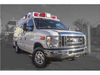 AMBULANCIA 2012 FORD WHEELED COACH GAS #06812, Ford Puerto Rico