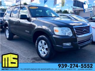 FORD EXPLORER XLT 2008, Ford Puerto Rico