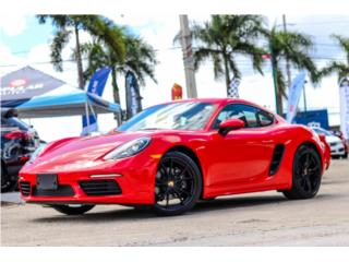 PORSCHE CAYMAN 718 PREMIUM PACKAGE 2018!!, Porsche Puerto Rico