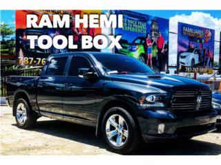 Ram 1500 HEMI crew cab Tool Box, RAM Puerto Rico