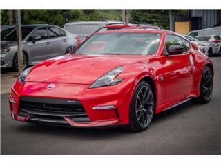 NISSAN NISMO 2017 370Z COLOR ROJO LLAMA YAAA!, Nissan Puerto Rico