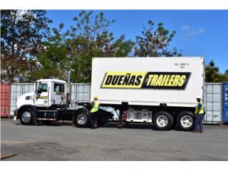 Reefers de 20', Equipo Construccion Puerto Rico