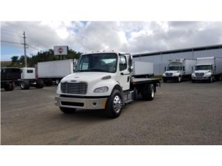 Grua Flatbed M2 Freightliner Towing, FreightLiner Puerto Rico