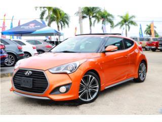 HYUNDAI VELOSTER TURBO 2016 PANORAMICA & NAV, Hyundai Puerto Rico
