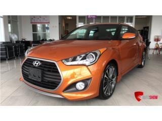 HYUNDAI VELOSTER TURBO 2016, Hyundai Puerto Rico