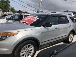FORD EXPLORER XLT 2012,3 FILAS,FAMILIAR!, Ford Puerto Rico