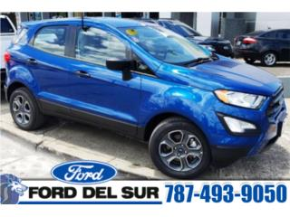 2019 FORD ECOSPORT S FWD, 1.0L Ecoboost , Ford Puerto Rico