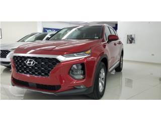 2019 HYUNDAI SANTA FE SE - Fiery Red, Hyundai Puerto Rico