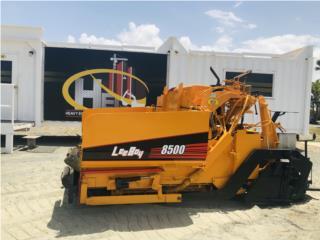 2001 Leeboy 8500 (Paver), Equipo Construccion Puerto Rico