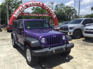 Jeep Wrangler Unlimited Sport, Jeep Puerto Rico