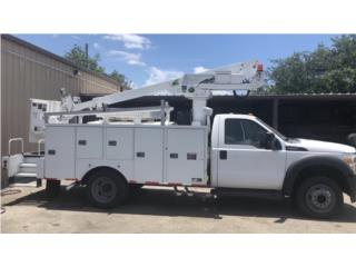 Ford F550 Bucket servi body 2011 importada , Ford Puerto Rico