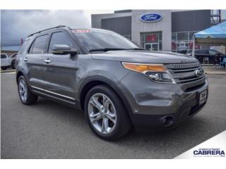2014 Ford Explorer Limited, Ford Puerto Rico