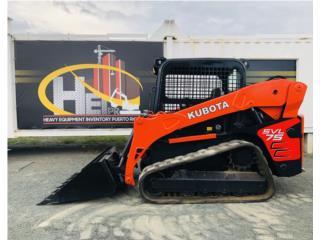 2012 Kubota SVL75 (Skid Steer), Equipo Construccion Puerto Rico