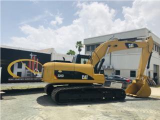 2007 Cat 320 DL, Equipo Construccion Puerto Rico