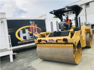 Compactador de asfalto 2012 Caterpillar CB64, Equipo Construccion Puerto Rico