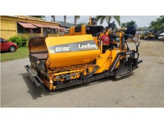 Leeboy 8510c 2015, Equipo Construccion Puerto Rico