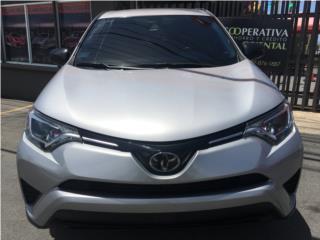 Toyota RAV-4, 2017, 15229 millas, Garantía  , Toyota Puerto Rico