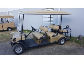 shuttle 6 ezgo, Carritos de Golf Puerto Rico