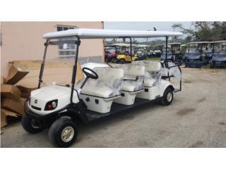 EZGO 8 pasageros, Carritos de Golf Puerto Rico