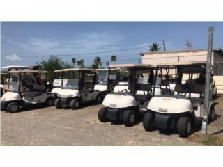 lote unidades electricas, Carritos de Golf Puerto Rico