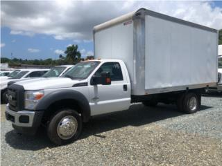 2014 Ford F550 Super Duty Diesel Cajón 16 ft, Ford Puerto Rico