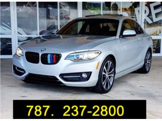 2016 BMW 228i / Coupe/ Leather / S roof , BMW Puerto Rico