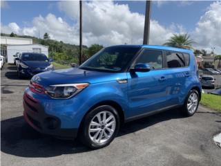 Hermosa Kia Soul 2018 Certificada, bajo costo, Kia Puerto Rico