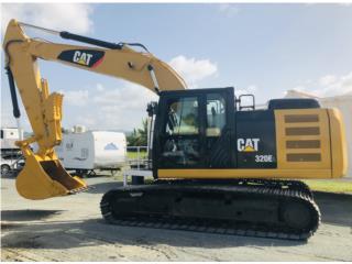2014 Caterpillar 320 E, Equipo Construccion Puerto Rico