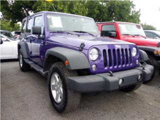 2018 JEEP WRANGLER, Jeep Puerto Rico