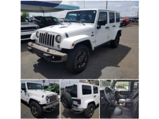 SAHARA BLANCO 75 ANIV 16K MILLAS DESDE 529!, Jeep Puerto Rico