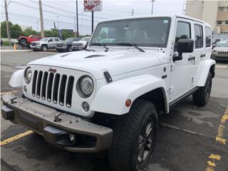 2017 JEEP SAHARA 75Th ANIVERSARIO, Jeep Puerto Rico