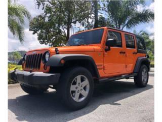 JEEP WRANGLER SPORT- 66k millas, Jeep Puerto Rico