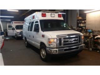 3 Ambulancias 2014 FORD MEDIX GASOLINAS , Ford Puerto Rico