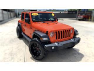 Jeep Wrangler JL Custom Caja nueva, Jeep Puerto Rico