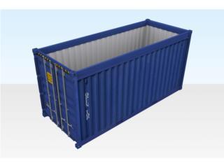 20' Open Top Containers/Contenedores 20% OFF!, Equipo Construccion Puerto Rico