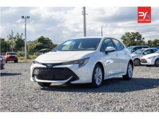 2021 TOYOTA COROLLA HATCHBACK - White, Toyota Puerto Rico