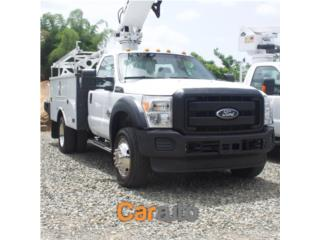 2012 Ford Duty 550, Ford Puerto Rico