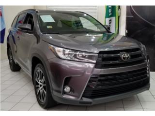 Toyota Highlander tres fila de asientos  puerto rico